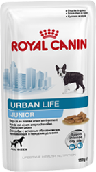 ROYAL CANIN Urban Life Junior - φακελάκια 10x150 g
